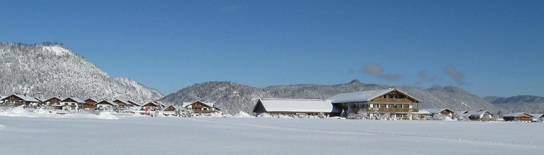 """Ferienwohnungen """"zum Baur"""" im Winter"""
