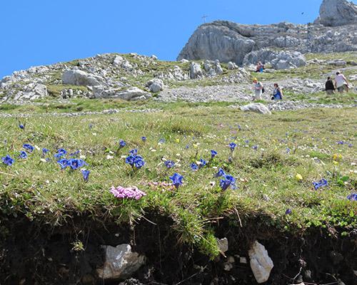 Berglust Pur jetzt im Karwendel mit dem Wanderrucksack