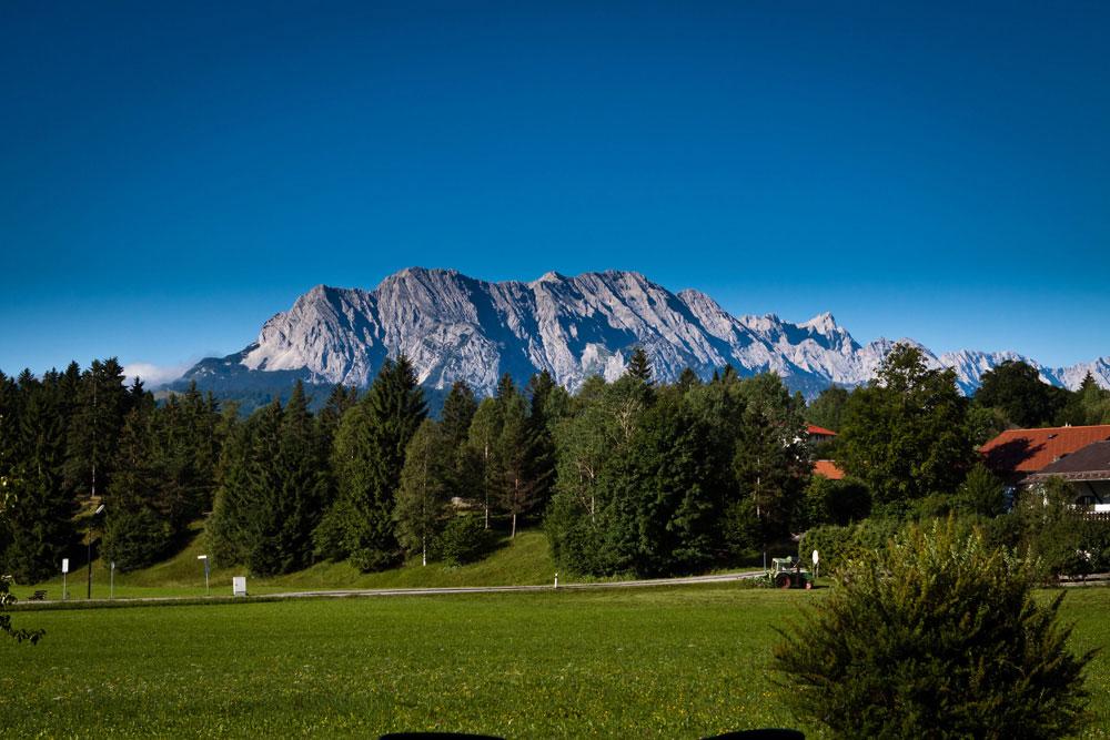 Ferienwohnung in Krün, Karwendel, Zugspitzblick 5 ***** Sterne
