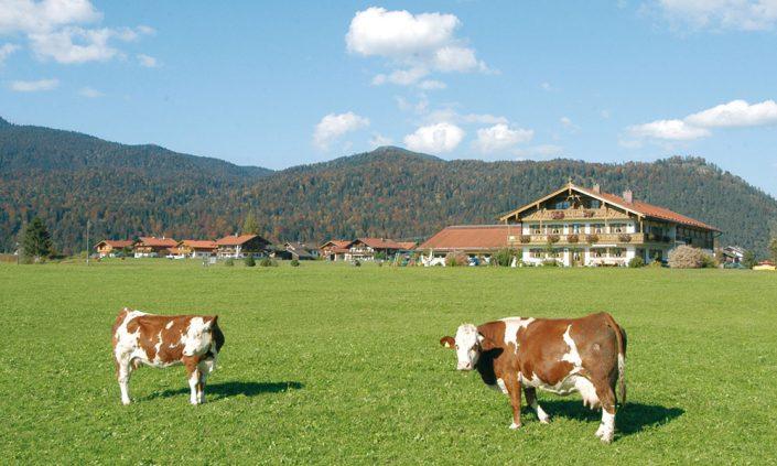 Bauernhof in Krün
