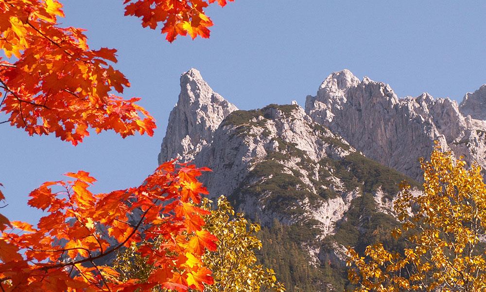 Herbst in der Alpenwelt-Karwendel
