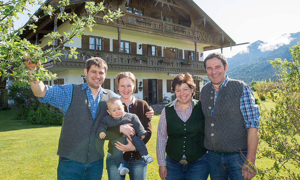Familie Heiss in Krün