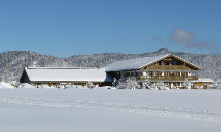 Ferienwohnung zum Baur im Winter