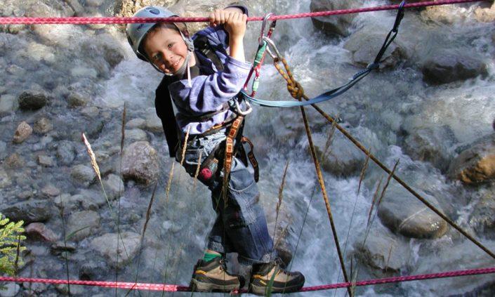 Klettersteig für Kinder im Karwendel