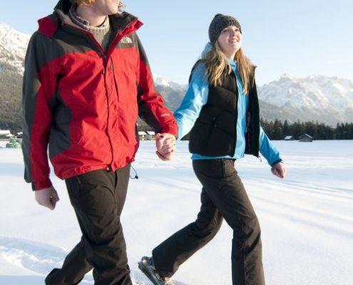 Ferienwohnung Krün - Winterangebot im Karwendel