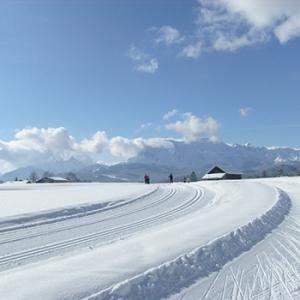 Winter Urlaub in der Alpenwelt Karwendel Ferienappartement Zum Baur