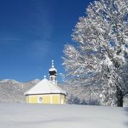 Winterurlaub auf dem Bauernhof Krün