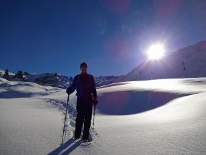 BR Schneeschuh Wanderung in der Nacht